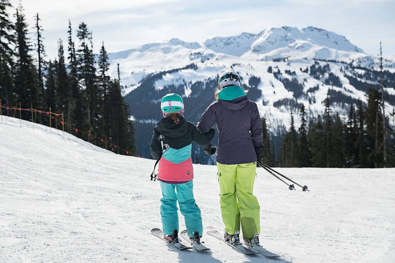 Family Skiing Whistler Blackcomb